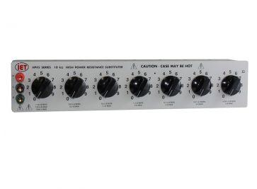 HPRS-F-7-0.001 High Power Decade Resistance Box