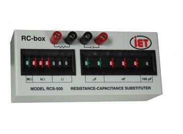 RCS Series Resistance & Capacitance Box
