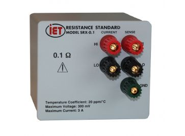 SRAC Standard Resistors Designed for Use At AC
