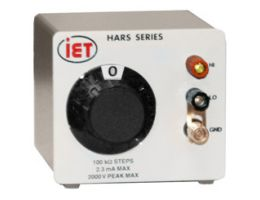 HRRS-B-1-100G-5KV High Resistance Decade Box