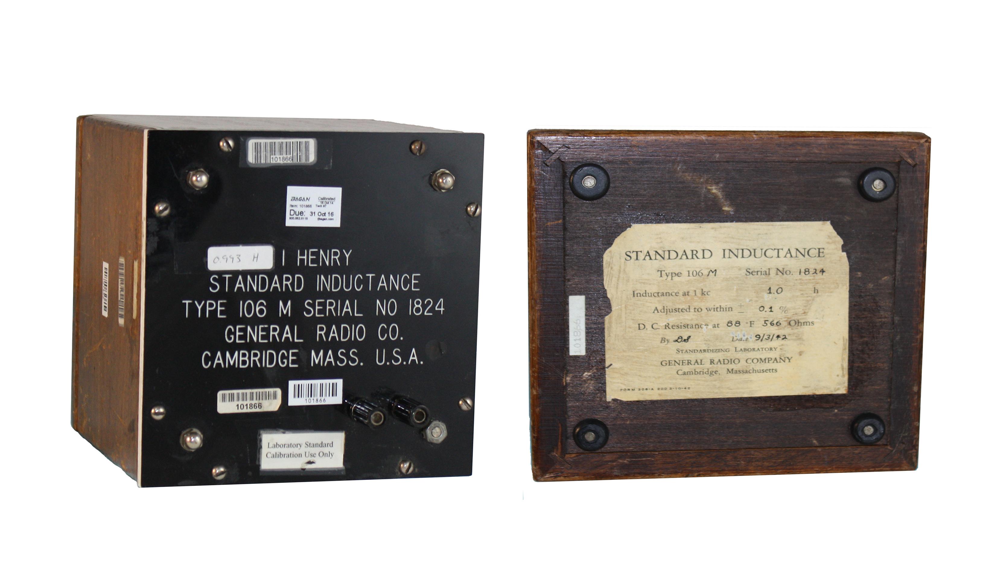 GenRad 106-M Standard Toroidal Inductor