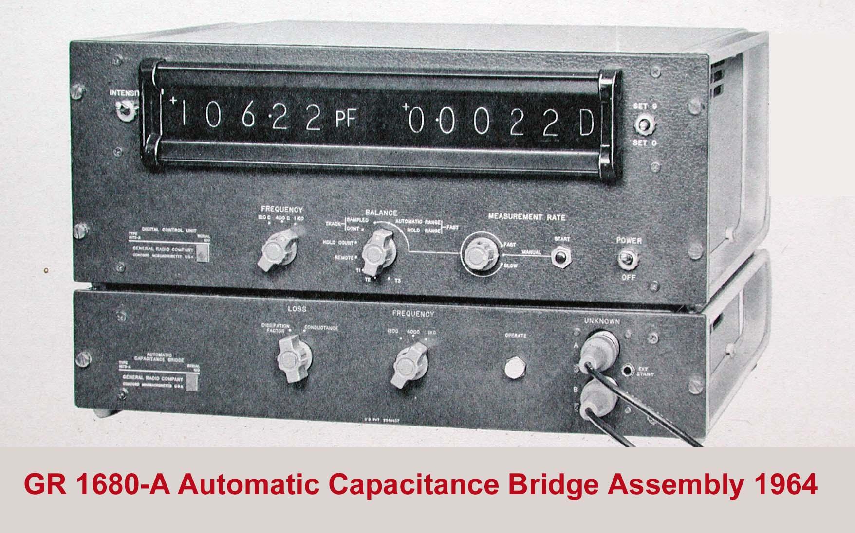 Type 1680 Automatic Capacitance Bridge