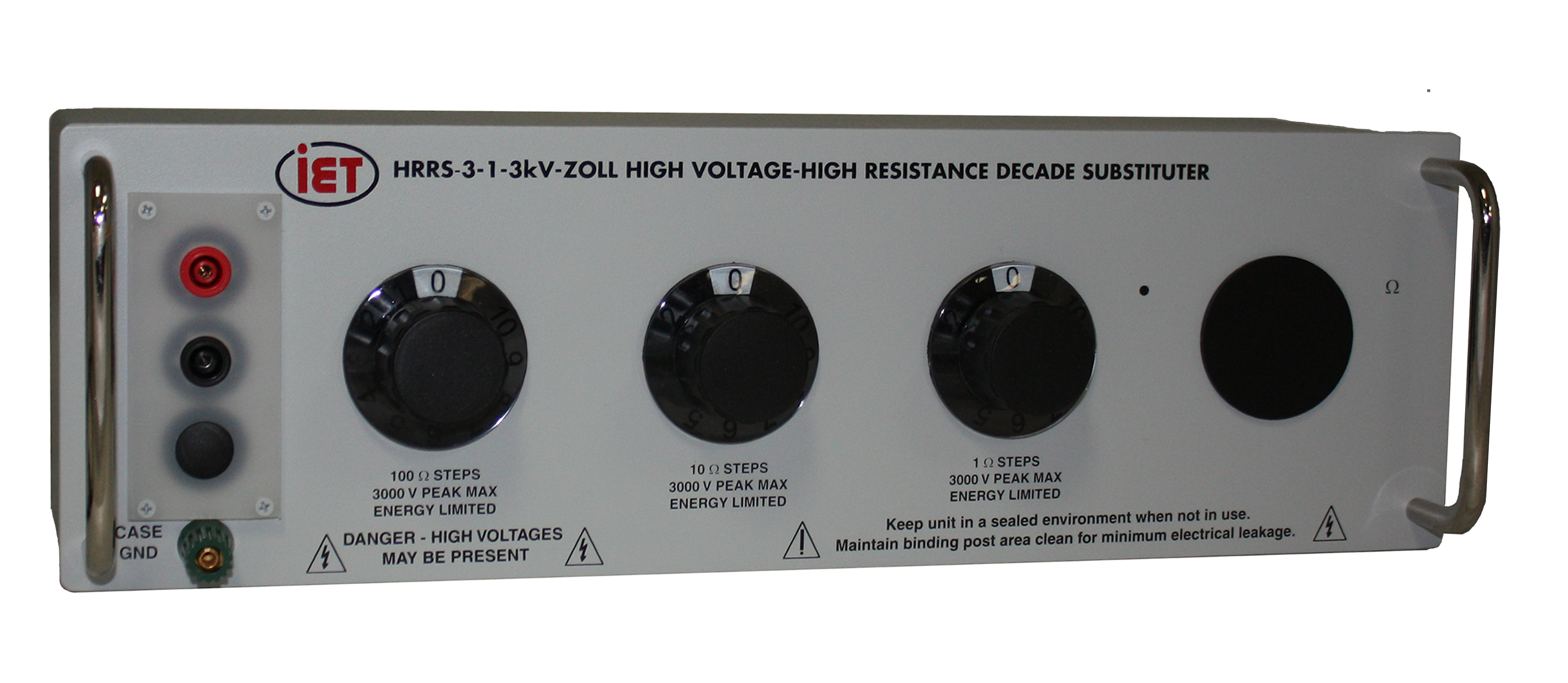 HRRS-Zoll-F-3 Decade Resistor